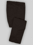 Washed Heavy Dark Brown Chinos