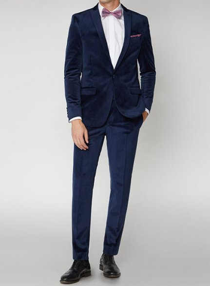 Velvet Suits - Pre Set Sizes - Quick Order