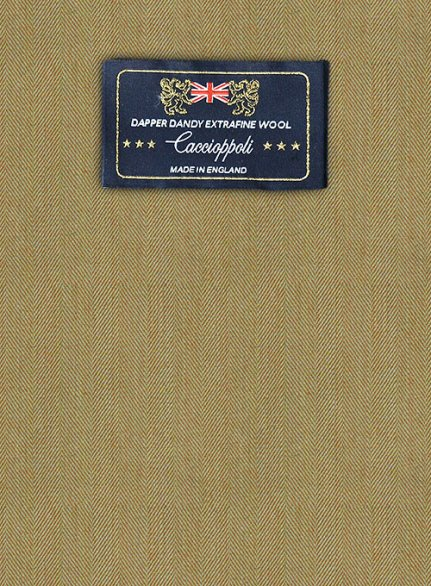 Caccioppoli Dapper Dandy Cosini Wool Suit