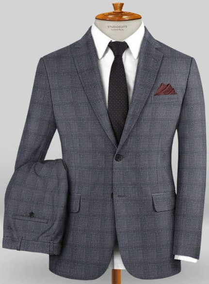 Caccioppoli Wool Stretch Benzio Suit