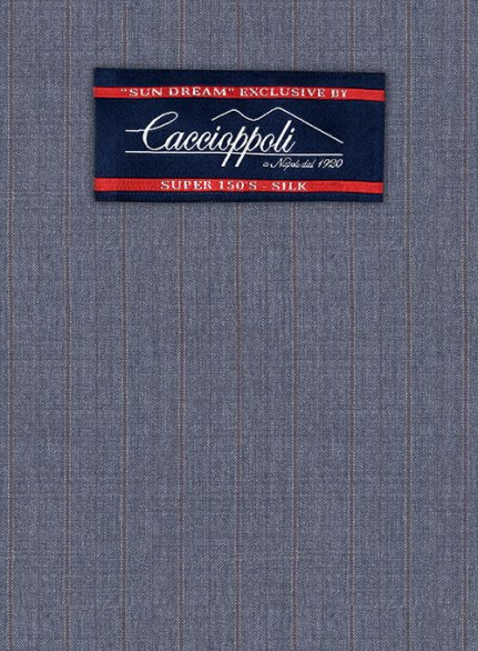 Caccioppoli Sun Dream Polico Blue Jacket