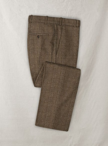 Gorro Checks Tweed Pants