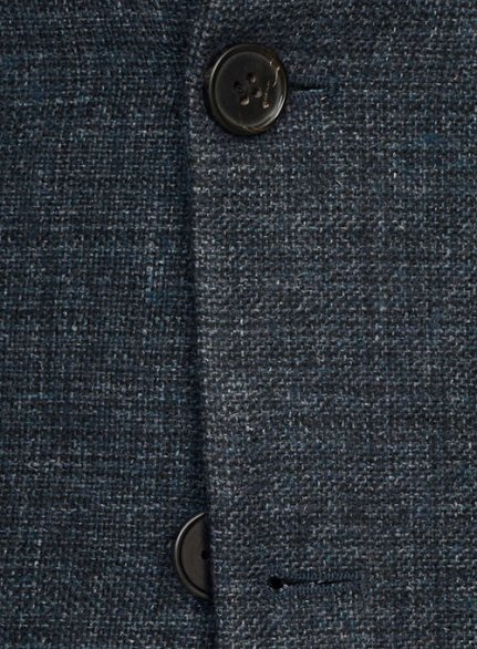 Vintage Glasgow Blue Tweed Suit