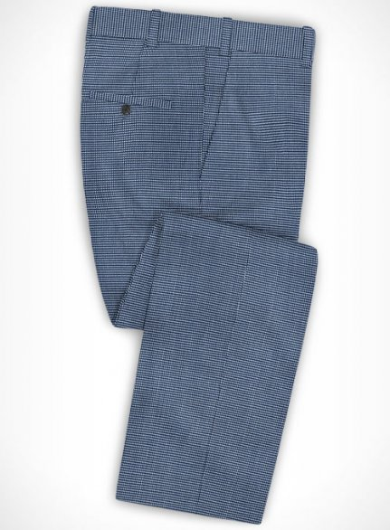 Cotton Stretch Grazia Blue Pants