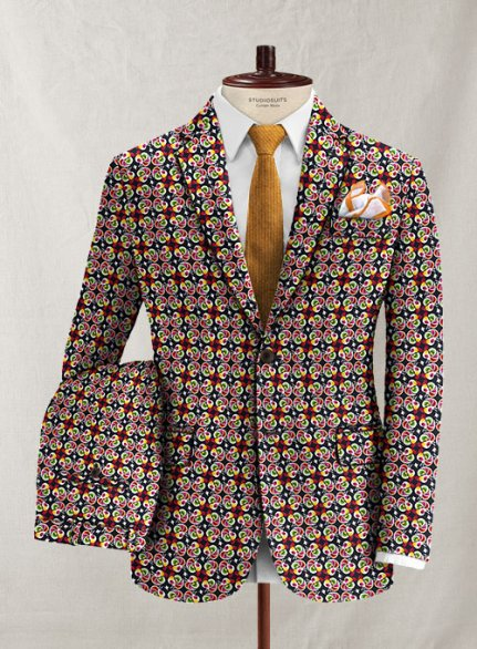 Italian Cotton Stretch Brimo Suit