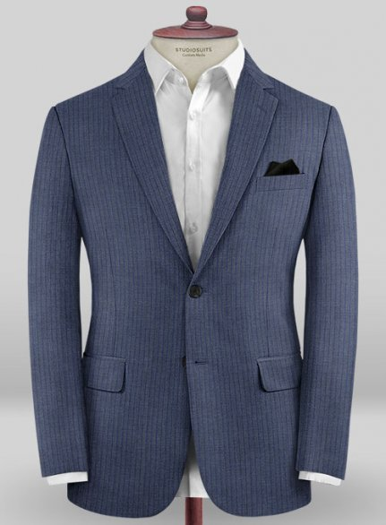 Caccioppoli Sun Dream Poreli Blue Jacket