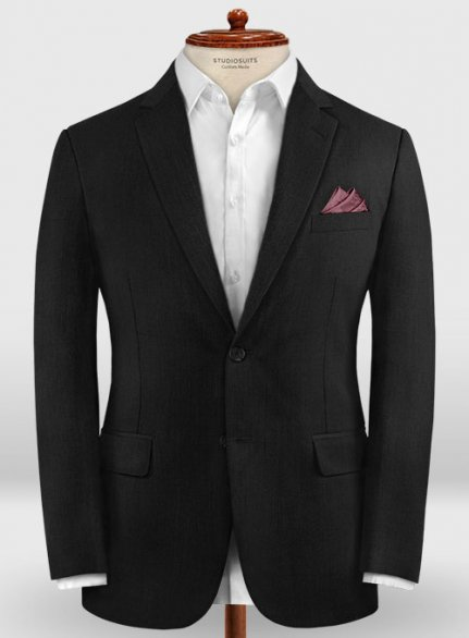 Zegna Traveller Black Wool Jacket