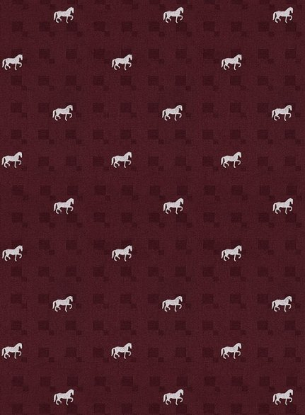 Cotton Horse Maroon Shirt
