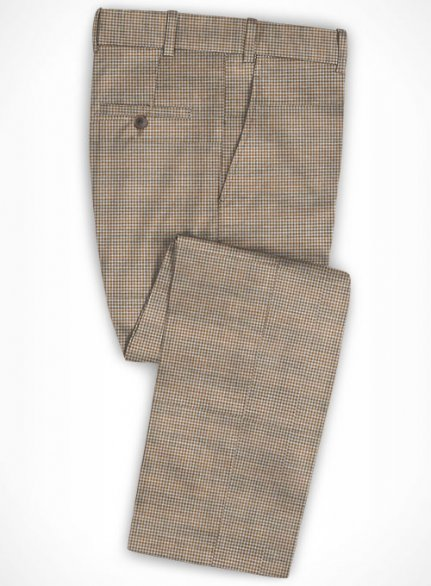 Cotton Ammani Brown Pants