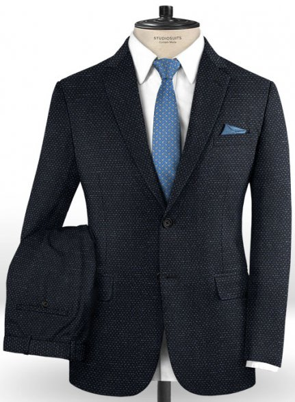 Italian Wool Cashmere Gobil Suit