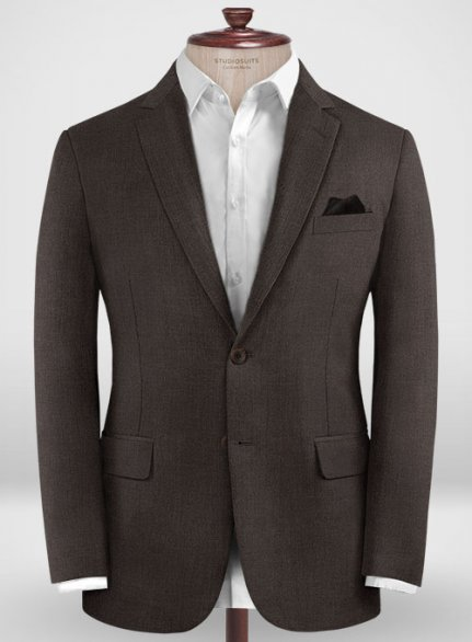 Zegna Traveller Dark Brown Wool Jacket