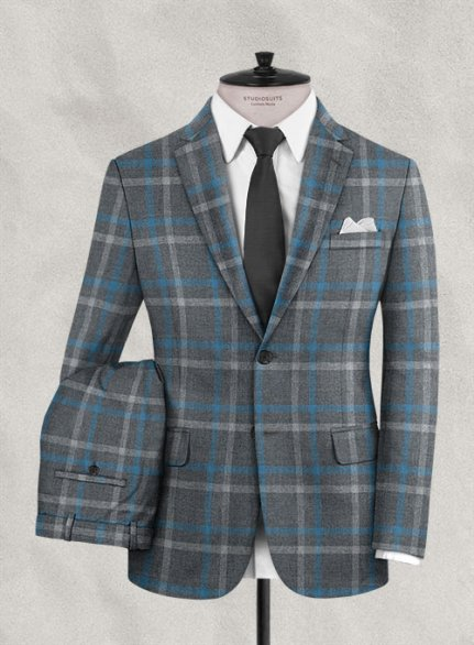 Italian Wool Cashmere Gasia Suit