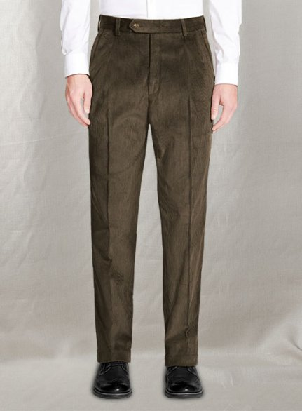 Tailored Corduroy Pants - Pre Set Sizes - Quick Order
