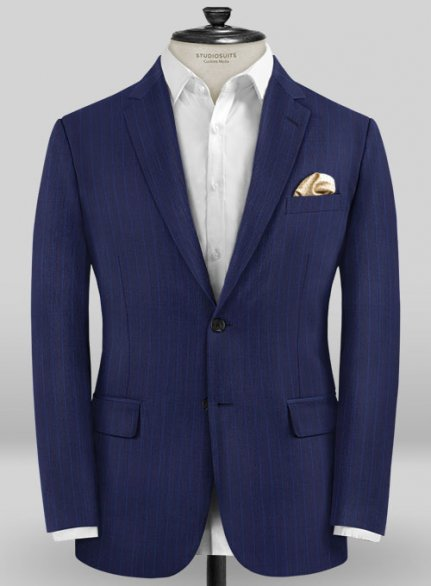 Caccioppoli Sun Dream Frozo Blue Jacket