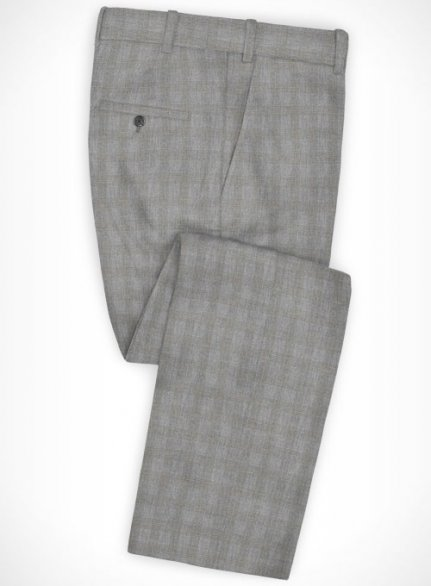 Cotton Gello Gray Pants