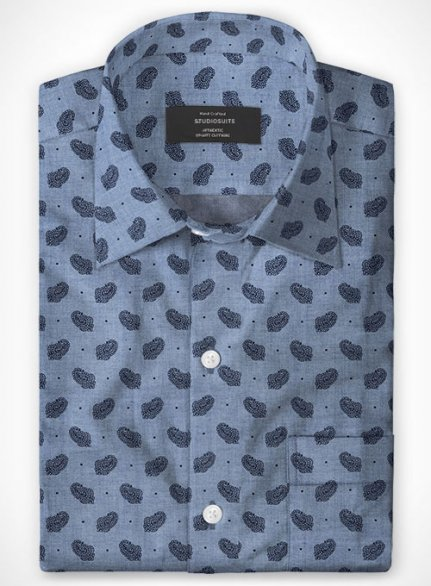 Cotton Carena Paisley Shirt