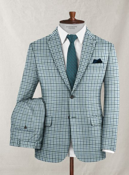 Zegna Vidio Checks Wool Suit