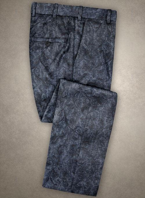 Italian Silk Onisi Pants - Click Image to Close