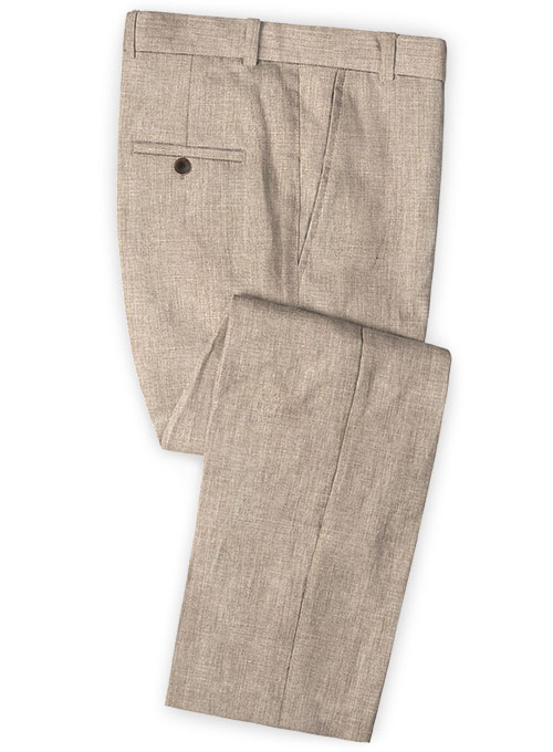 Solbiati Linen Wool Silk Xielo Pants - Click Image to Close