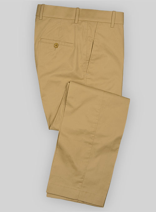 82804290d5f4 Summer Weight Khaki Tailored Chinos   StudioSuits  Made To Measure Custom  Suits