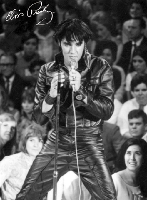 Elvis Presley Leather Suit - 11 Colors