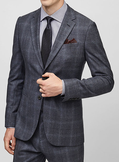 Cashmere Wool Flannel Jacket Studiosuits Made To