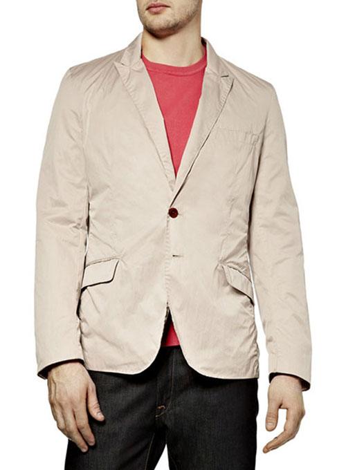 Cotton Fine Twill Sports Jacket - Click Image to Close