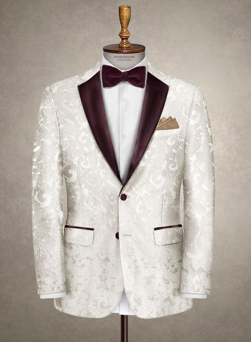 Italian Silk Stimi Tuxedo Jacket - Click Image to Close