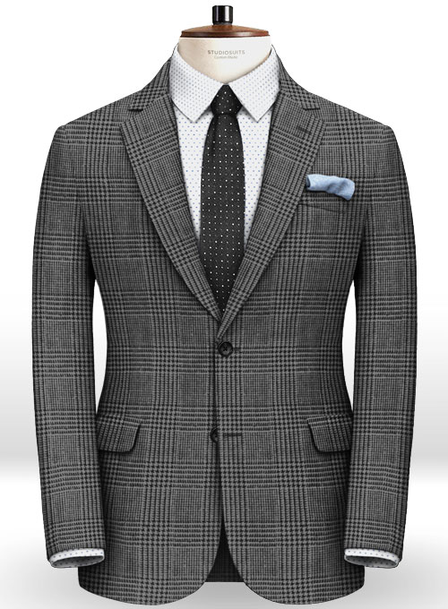Italian Tweed Benve Jacket - Click Image to Close
