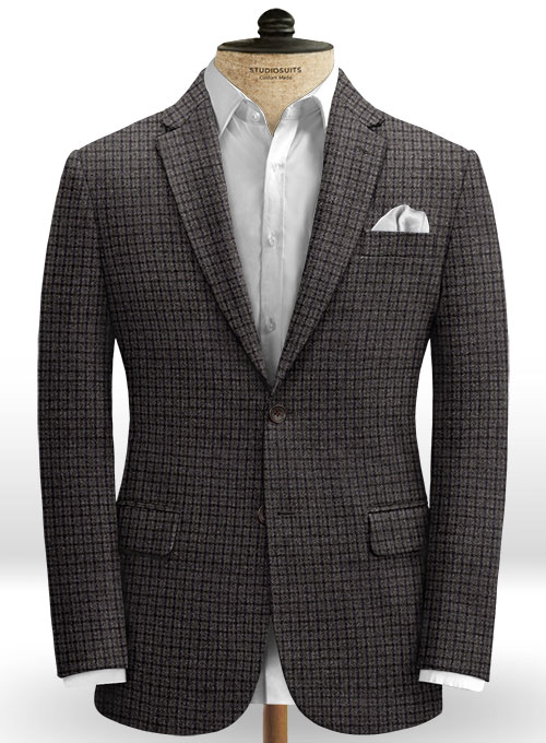 Italian Tweed Priamo Jacket - Click Image to Close