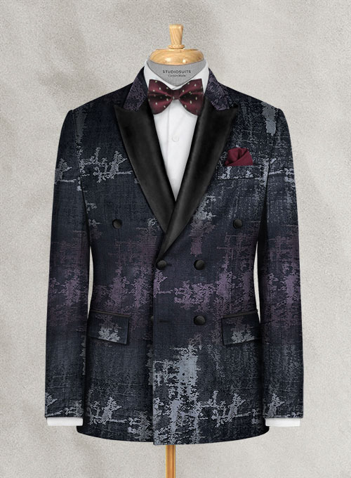 Italian Silk Tempi Tuxedo Jacket - Click Image to Close