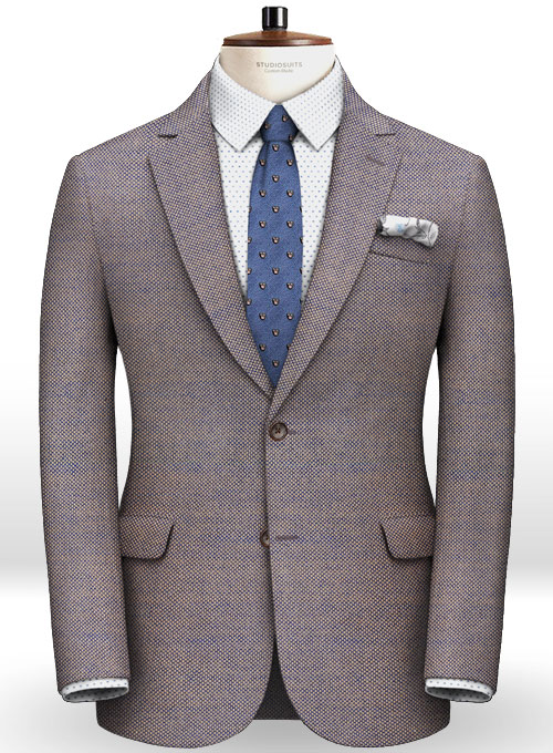Italian Wool Silk Castle Jacket Studiosuits Made To Measure