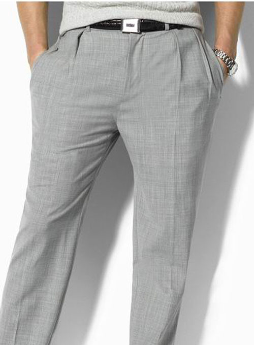 Terry Rayon Classic Dress Pants - Premium