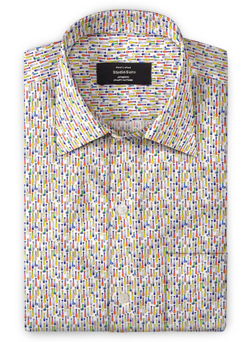 Cotton Tie World Shirt