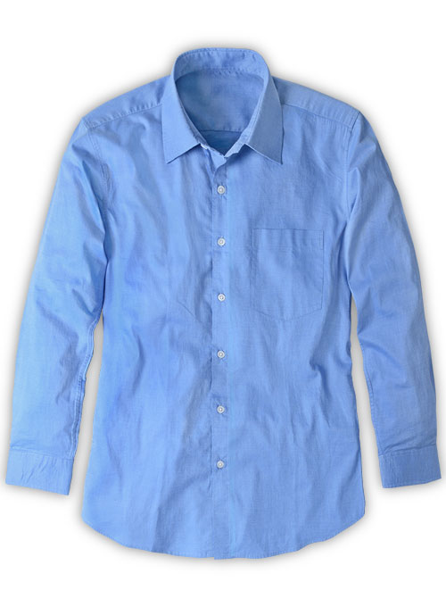 Filafil Poplene Blue Washed Shirt