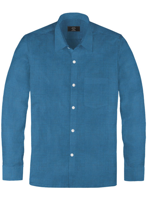 Filafil Poplene  Ink Blue   Shirt