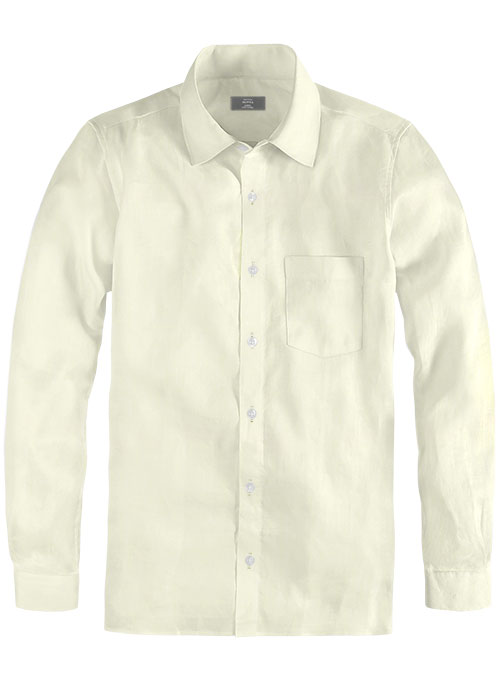 Giza Lemon Cotton Shirt