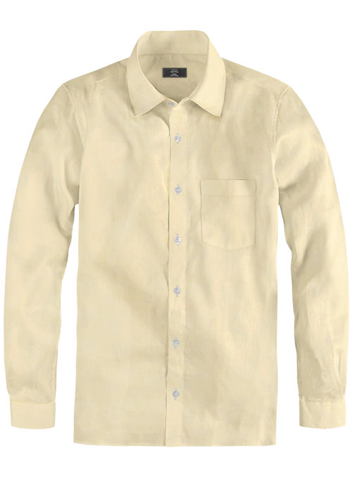 Giza Melon Cotton Shirt