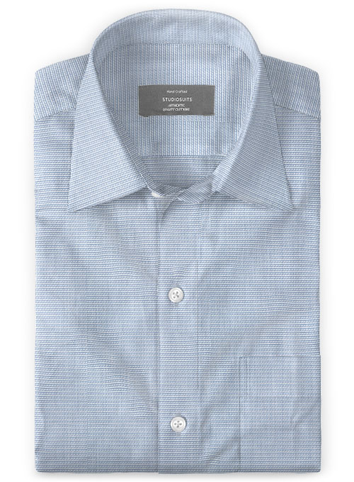 Italian Cotton Roppo Shirt - Click Image to Close