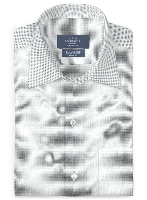 S.I.C. Tess. Italian Cotton Flocci Shirt