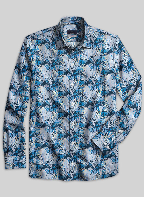 Liberty Solida Cotton Shirt