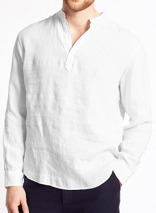 Linen Overhead Shirt - Click Image to Close