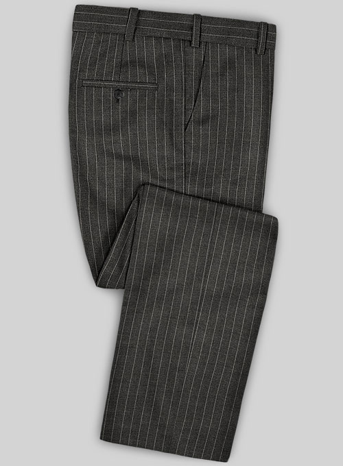 Caccioppoli Fresco Wool Gray Ninso Suit - Click Image to Close