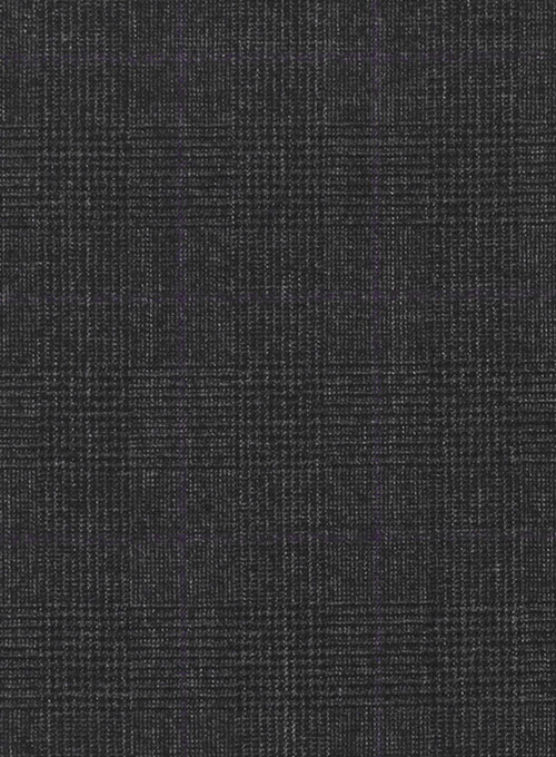 Huddersfield Glen Charcoal Pure Wool Suit - Click Image to Close
