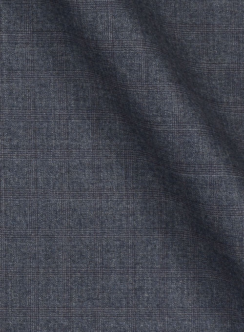 Huddersfield Porter Blue Pure Wool Suit - Click Image to Close