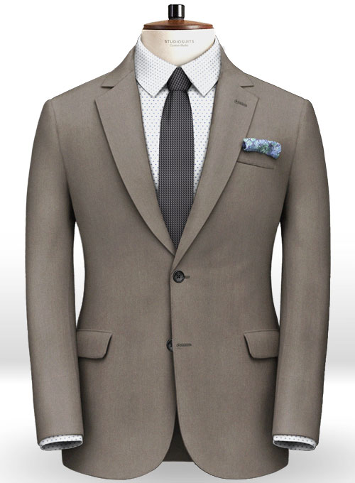 Italian Cotton Damask Suit - Click Image to Close
