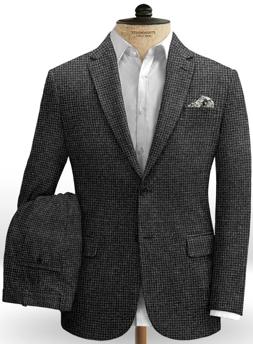 Italian Tweed Tauro Suit - Click Image to Close