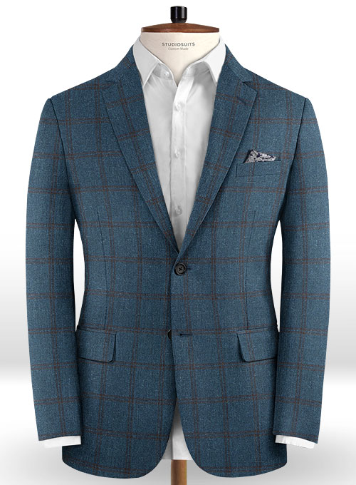 Italian Wool Cashmere Barbaro Suit - Click Image to Close