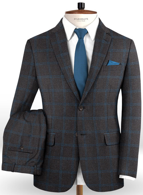 Italian Wool Cashmere Bindo Suit - Click Image to Close