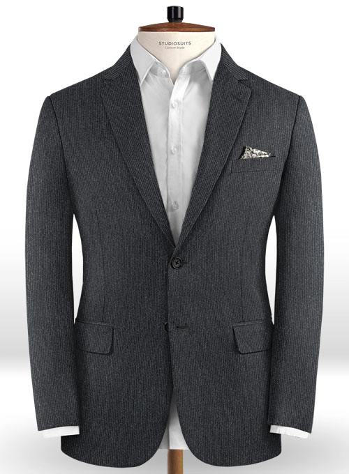 Italian Wool Colombano Suit - Click Image to Close